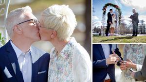 22a3997679df Drop in-bröllop i Högbo: