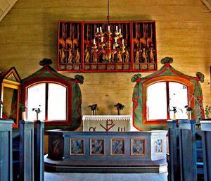 Inuti Evertsbergs kapell. Foto: Jörg Ziperer