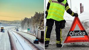 Antalet döda i trafiken minskade under 2017.Bild: Jacob Sjöman, Johan Nilsson / TT.