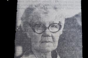 Svea Lindström missar aldrig ett trav på Bergsåker utan har varit där varje gång sedan öppningssöndagen 1932