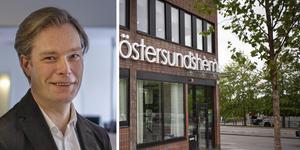 Mattias Lööv är nuvarande styrelseordförande i Östersundshem som även han beslutat om miljontillskott i det krisande bolaget.