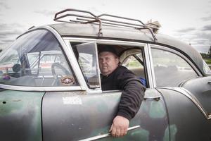 Henrik Hildebrand är en av alla som kommer att visa upp sin bil på lördag.