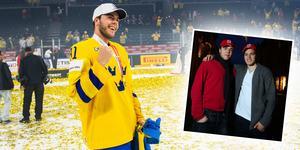 Magnus Pääjärvi återförenas med Anton Lander. Bilden till höger är från december 2009, när de båda spelade i Timrå IK. Bilden är ett montage.