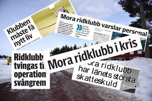 Ett axplock och montage av de artiklar som skrivits om krisen i ridklubben som ägde rum för runt ett decennium sedan.