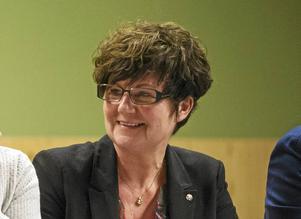 Kerstin Almén, Kommunstyrelsens vice ordförande (S) och med i Styrgruppen för Skolhusplanen.