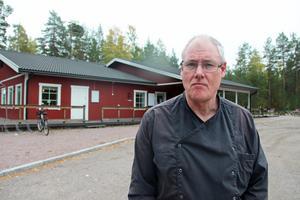 Mikael Rosén har drivit restaurangen i tre år.