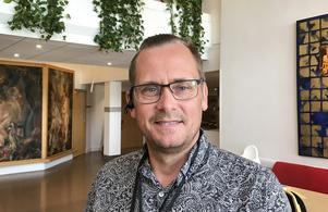 Mikael Gillman, plan- och byggchef i Hudiksvall.