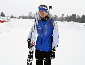 Om ett par veckor representerar Alfred Eriksson Sverige vid skidskytte-VM för juniorer, i Estland.