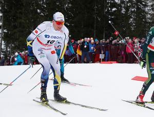 Daniel Rickardsson blev elva på femmilen i Holmenkollen.