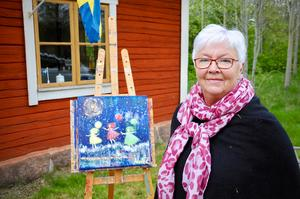 Anna Zandén har varit med i Höglandets konstronda i några år. I år blir den inte av på ett traditionellt sätt, men hon tycker den alternativa lösningen är bra.