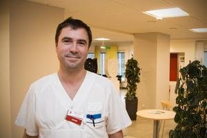 Johan Saaw, verksamhetschef för medicinavdelningen i Fagersta och Köping.