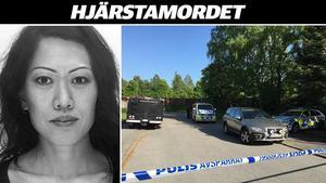 Lena Wesströms kropp hittades bara cirka hundra meter från hennes hem i Hjärsta. Nu har polisen fått en preliminär dödsorsak.