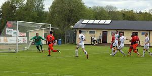 Friska Viljor släppte inte till många målchanser trots att laget spelade en timme med en spelare mindre.