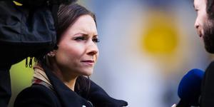 Camilla Nordlund gästar Hockeypuls podcast #10. Bild: Johanna Lundberg/Bildbyrån