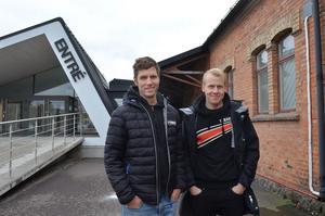 Mattias Eriksson och Nicklas Hessel är två av de fyra delägarna i Biketown Sverige.