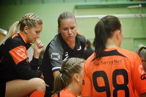 Anna Ericsson tränar IBF den här säsongen.