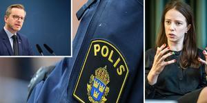 Inrikesminister Mikael Damberg och jämställdhetsminister Åsa Lindhagen besöker Falun och Borlänge under torsdagen. De ska bland annat träffa representanter för polisen. Bilden är ett montage.