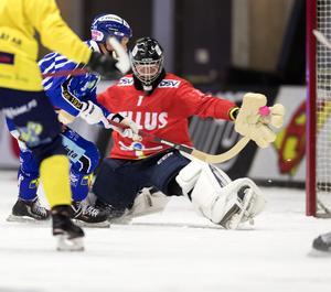 Markus Karlsson imponerade i Tellus mål i premiären mot Villa. Bild: Thomas Johansson/TT