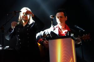 Iréne Sahlin och Per Samuelsson, Taste of Sound, kommer att ge guldtjäderbanketten en speciell inramning med ljus och ljud som passar till Högbo Brukshotells trerättersmeny.Foto: Linda Elverstig, Matvärden