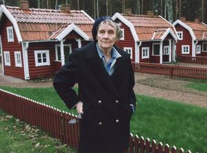 Astrid LIndgren var en Bullerbytant, men också en politisk matspelare. Foto: SCANPIX