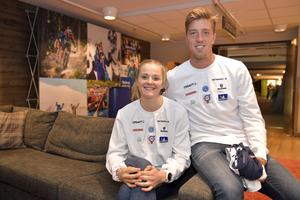 Stina Nilsson och Calle Halfvarsson