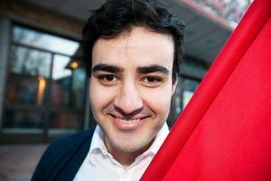 Ahmed Amin vice ordförande för Socialdemokraterna i Gävle.
