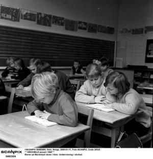 Inget kan ersätta det sociala, kontakten med skolkamrater och lärarnas undervisning och närvaro i klassrummet, skriver Roger Haddad.Foto: TT/Arkivbild