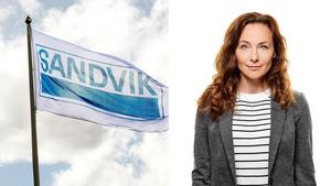 Foto: Lasse Halvarsson/Sandvik Sandviks presschef Carina Aspenberg.