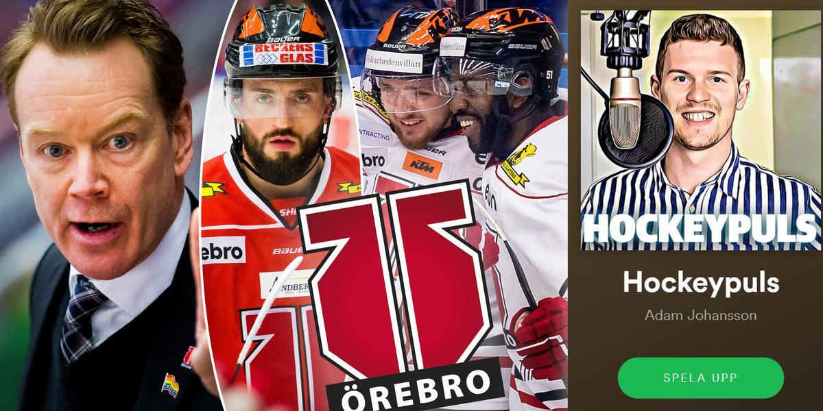 Hockeypuls podcast #61: Örebro Hockey – nästa topplag i SHL?