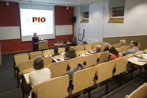 Föreningen Pio är på turné på nio orter i landet för att informera om immunbristsjukdomar.