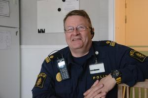 Björn Karelius, polis i Sälen, ser fram emot att polisen vill ha fler poliser på stationen i Sälen.