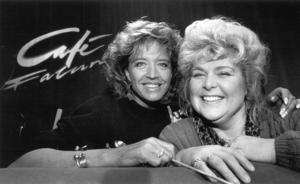 Mellan 1988 - 1997 sände SVT det lätta magasinsprogrammet Café Falun. Lill-Babs Svensson och skådespelaren Isabella Kaliff gästade TV-studion i Falun tidigt i programmets historia.