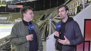 VLT-sporten med Oliver Åbonde (till vänster) och sportchef Peter Hoffström har utökat antalet VLT-sändningar av lokala matcher.