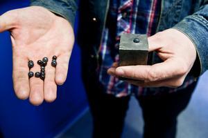 Kiselnitrid kan vara på väg att åter sätta Ljungaverk på industrikartan.Foto: Mattias Myde