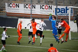 Oskar Jansson i ÖSK-målet klarade allt han utsattes för mot AFC.