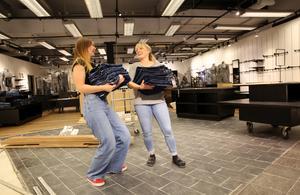 Isabelle Grima kommer att arbeta tillsammans med Sandra i den nya butiken i Mora.