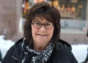 Lisbeth Malm, 61 år, konstnär, Lörudden