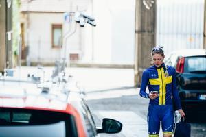 Emilia Fahlin har cyklat elva raka VM och två raka OS, och har tre fjärdeplatser som bästa resultat. Arkivfoto: Thomas Maheux