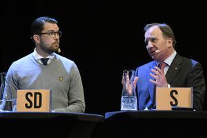 Man röstar av hävd och tradition. Sverige är ett land som befinner sig i kris. Så dissa SD och rösta på S? undrar insändaren.