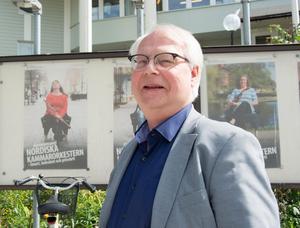 Lennart ÅKermark, tidigare musikchef i Scenkonst Västernorrland och nu ordförande för Sundsvalls Orkesterförening, trycker på musikens betydelse för nätverksskapande i samhället.