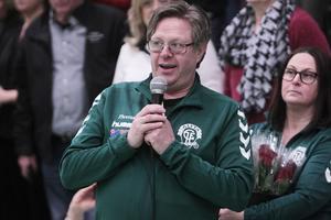 Thomas Mogren är ordförande i Alfta GIF Handboll – och en av de drivande bakom kampanjen för en ny hall.