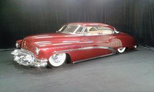 En Buick Super Riviera från 1952 – bilen som fick ta emot förstapris i både customklassen och Best in show.