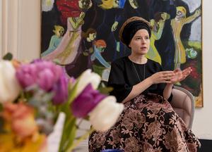 Kulturminister Amanda Lind (MP) är ansvarig för bibliotekens framtid.