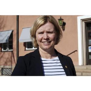 Malin Höglund, ordförande för  socialnämnden i Mora.