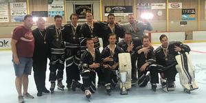 Köping Inline tog fjärde raka SM-guldet. Foto: Privat