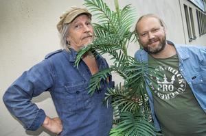 Stefan Sundström och Martin Emtenäs med föreställningen