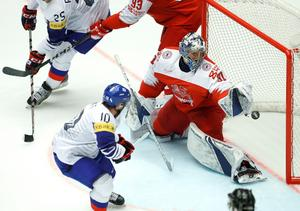 Frederik Andersen, målvakt i Toronto Maple Leafs, är en av dansk hockeys största stjärnor. Foto: Petr David Josek/AP/TT