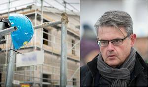 """Håkan Buller (S), stadsbyggnadsnämndens ordförande, är bestört över hur vissa byggföretag beter sig. """"Aktörer med den här typen av värderingar ska veta att det inte finns plats i Södertälje för dem. Jag är beredd att ta alla initiativ som krävs för att få ordning och reda"""", säger han. Foto: Karolina Önnebro / Roger Stigell"""