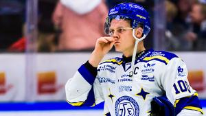 Martin Karlsson tycker att det var skönt att Leksand tog två segrar inför uppehållet. Foto: Fredrik Karlsson/Bildbyrån