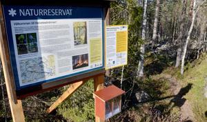 Trots orördheten och vildmarken finns en hel del service i reservatet, som fyra stugor du kan bo i.